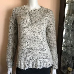 J. Crew Wool Blend Marled Drop-shoulder Sweater